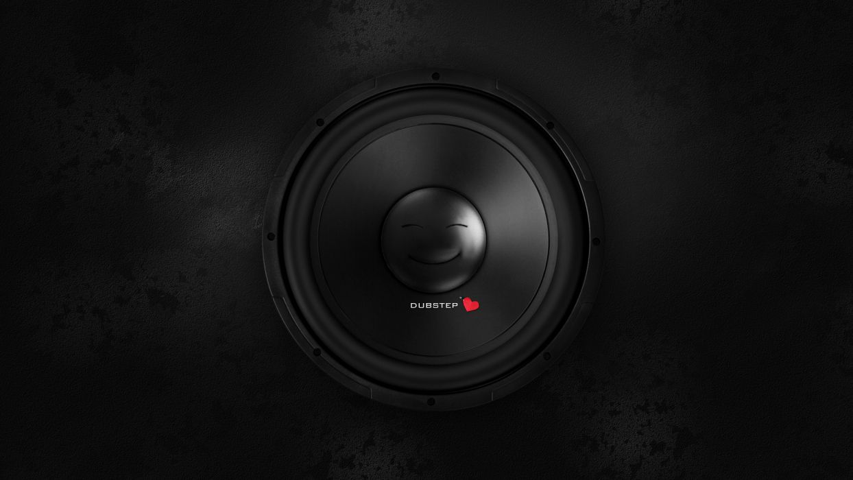 Dubstep Electronic Speaker Speakers Wallpaper