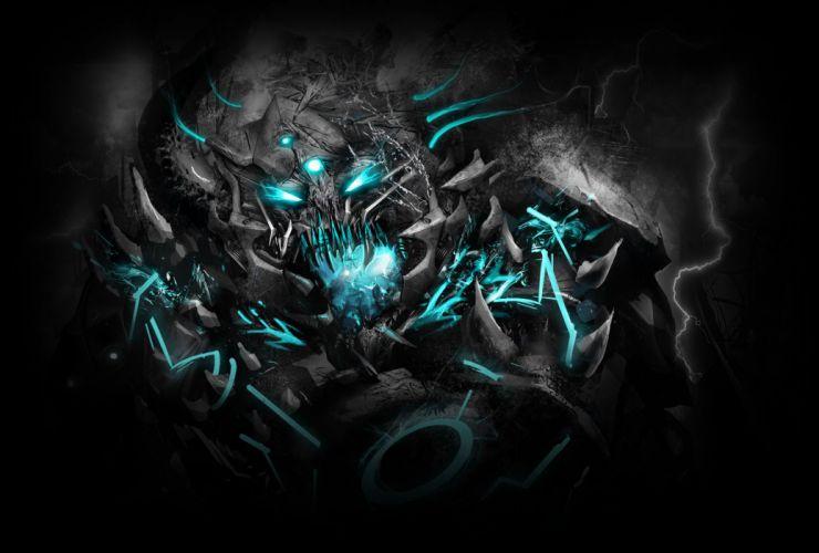 dubstep electronicfantasy dark demon demons monster monsters wallpaper