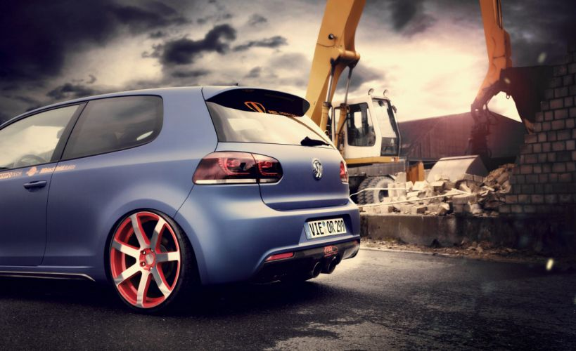 2012 BBM-Motorsport Volkswagen Golf VI tuning wheel wheels wallpaper