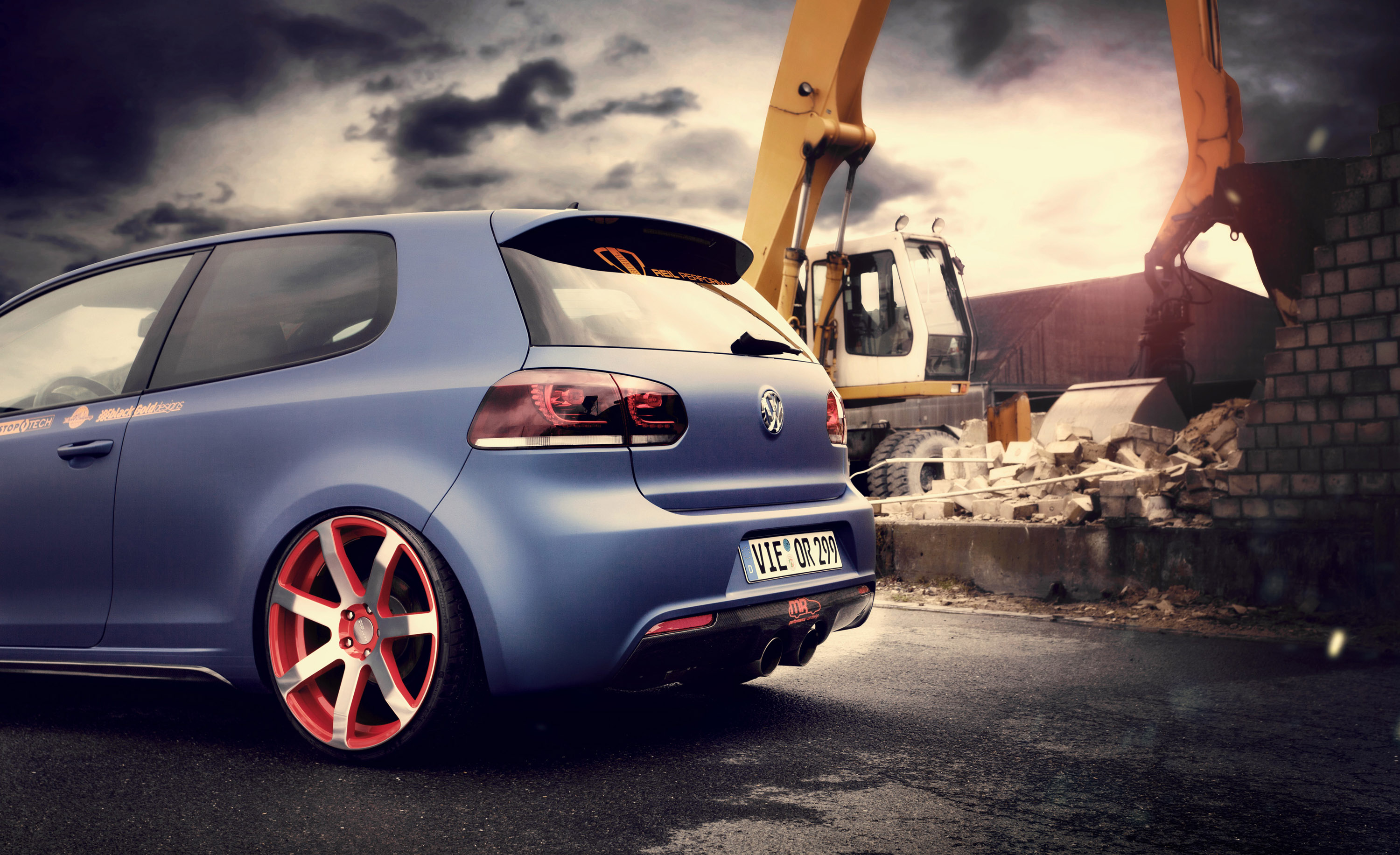 2012 Bbm Motorsport Volkswagen Golf Vi Tuning Wheel Wheels