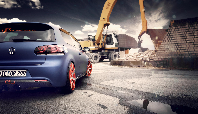 2012 BBM Motorsport Volkswagen Golf VI Tuning Wallpaper