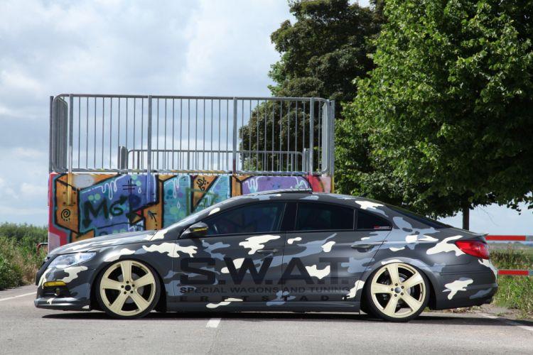 2012 KBR Motorsport Volkswagen Passat tuning camo w wallpaper