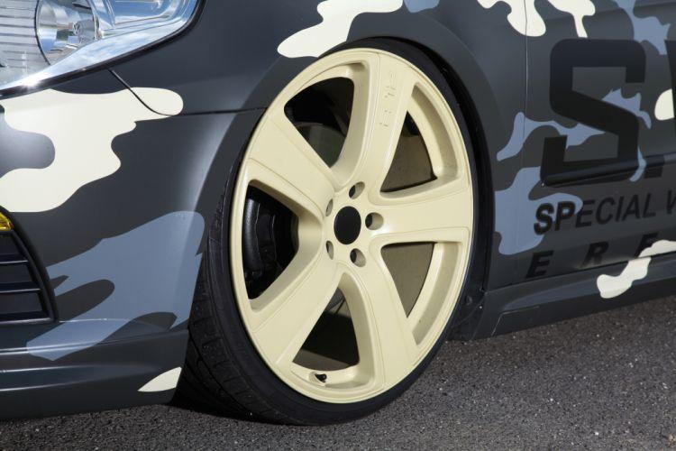 2012 KBR Motorsport Volkswagen Passat tuning camo wheel wheels wallpaper