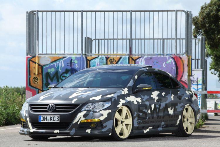 2012 KBR Motorsport Volkswagen Passat tuning camo wallpaper