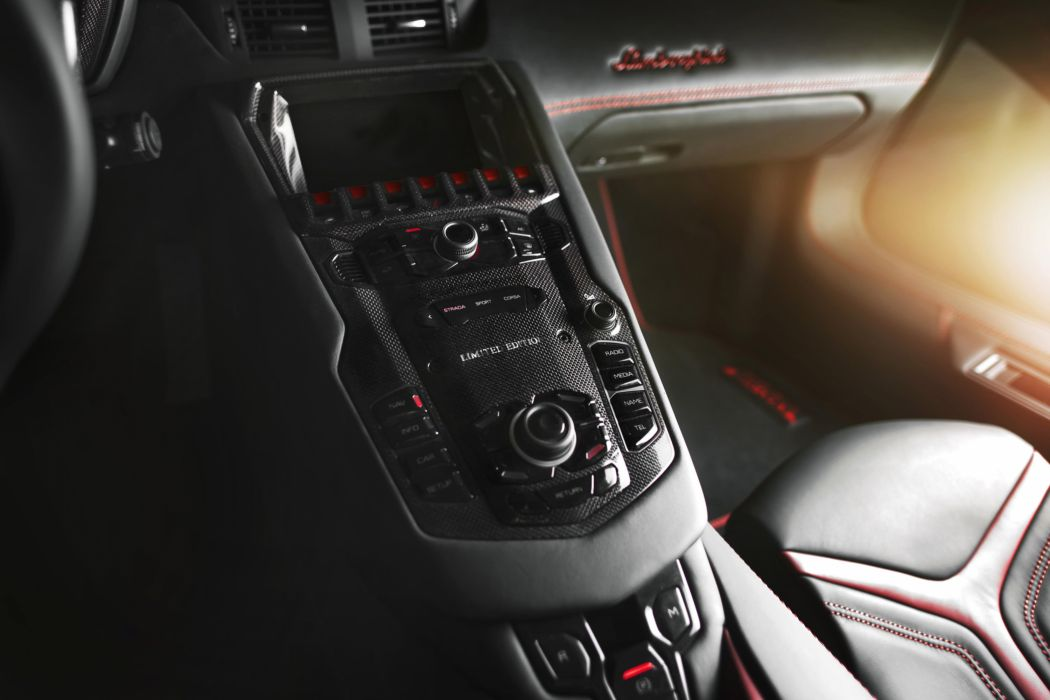 2012 Mansory-Carbonado Lamborghini Aventador LP700-4 supercar supercars tuning interior dash wallpaper