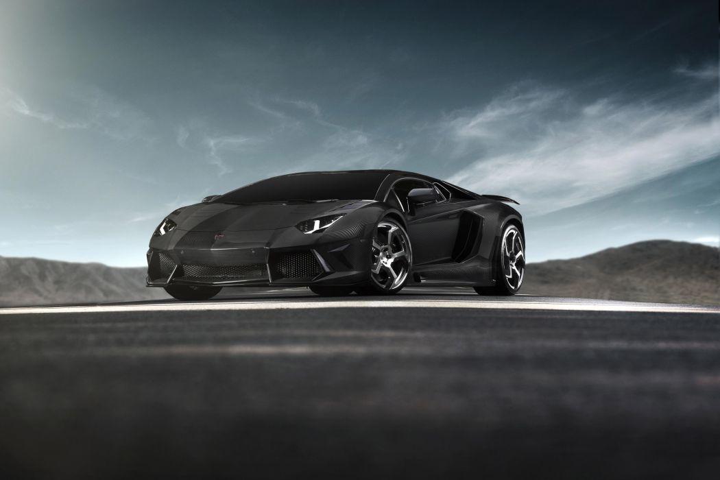 2012 Mansory-Carbonado Lamborghini Aventador LP700-4 supercar supercars tuning wallpaper