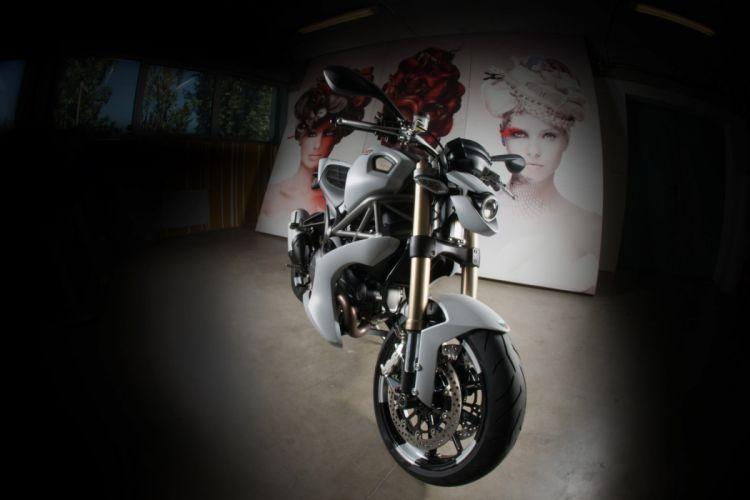 2012 Vilner Ducati Monster 1100 Evo superbike sportbike tuning f wallpaper