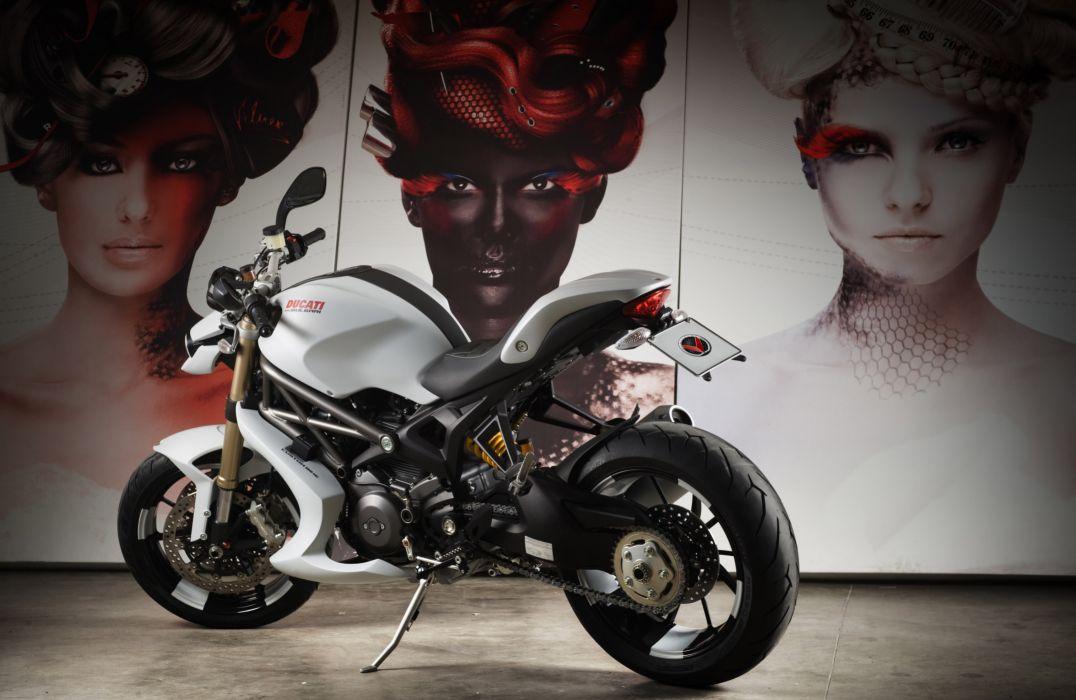 2012 Vilner Ducati Monster 1100 Evo superbike sportbike tuning q wallpaper