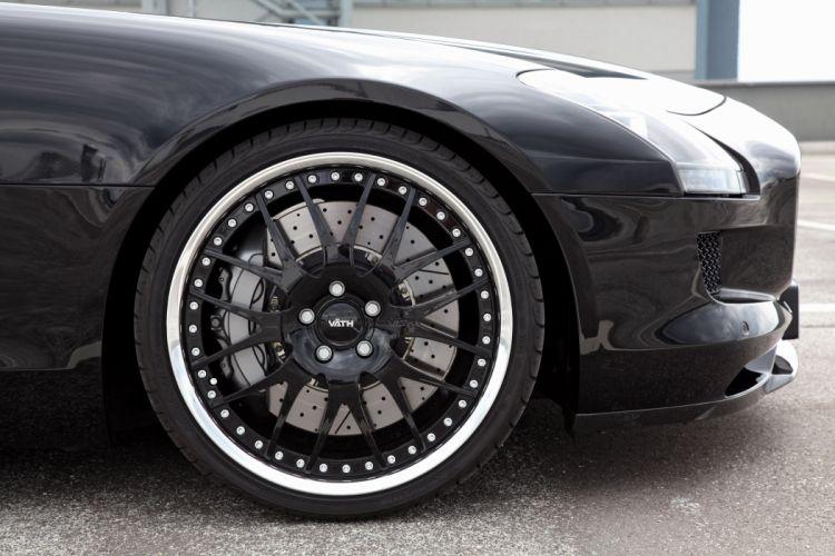 2012 VATH Mercedes Benz AMG SLS Roadster tuning wheel wheels wallpaper