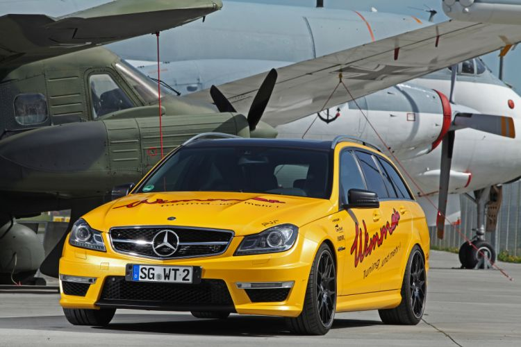 2012 Wimmer-Rennsporttechnik Mercedes-Benz C-63 AMG c63 tuning stationwagon wallpaper