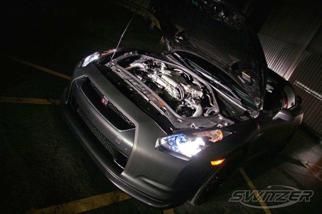 2012 Switzer Nissan GTR gt-r tuning engine engines  q wallpaper