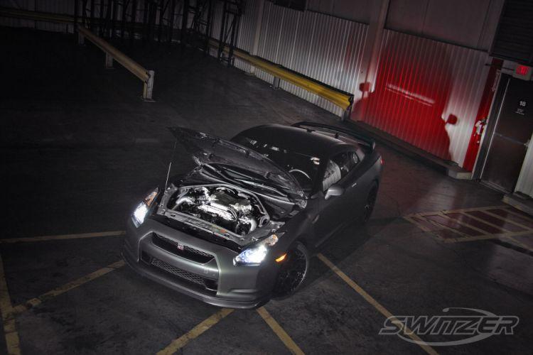 2012 Switzer Nissan GTR gt-r tuning engine engines wallpaper