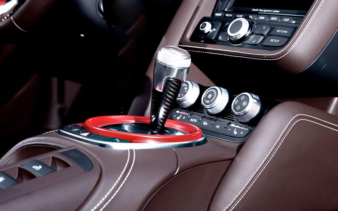 2012 Wheelsandmore Audi R-8 Spyder-GT Spyder tuning interior wallpaper