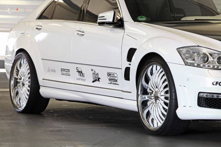 2012 CFC Mercedes Benz S65 AMG tuning wheel wheels wallpaper