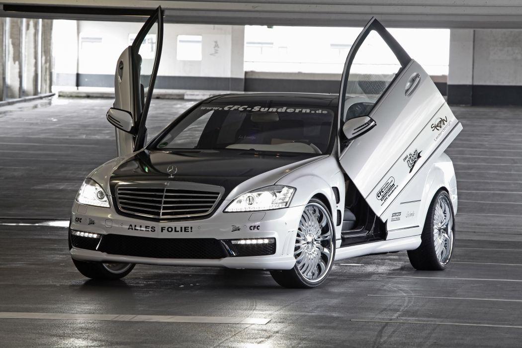 2012 CFC Mercedes Benz S65 AMG tuning wallpaper