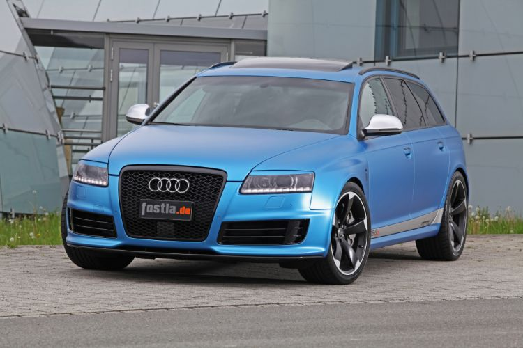 2012 Fostla-Wrapping Audi RS6 tuning stationwagon stationwagons wallpaper