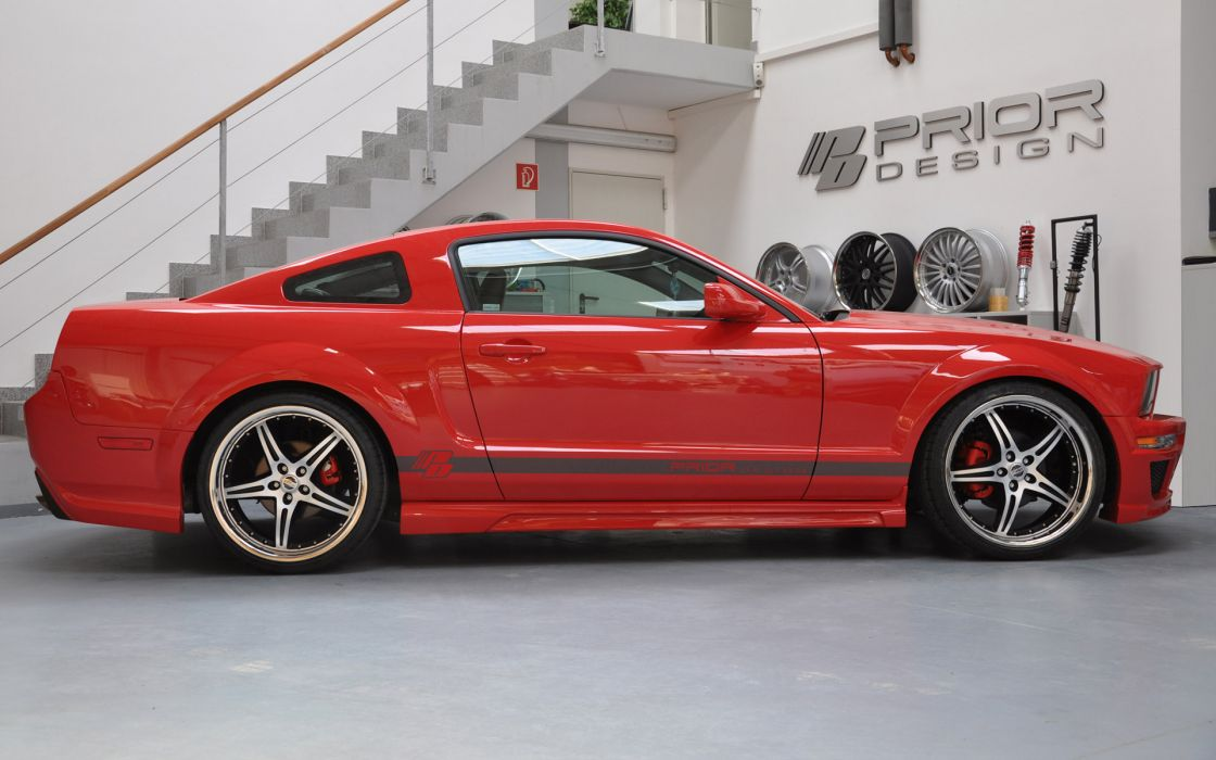 2012 PRIOR-DESIGN Ford Mustang muscle tuning r wallpaper