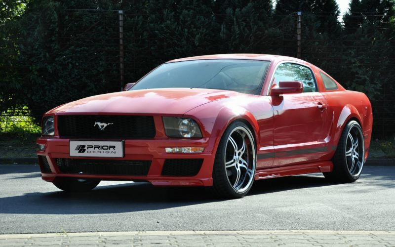 2012 PRIOR-DESIGN Ford Mustang muscle tuning w wallpaper
