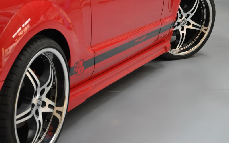 2012 PRIOR-DESIGN Ford Mustang muscle tuning wheel wheels wallpaper
