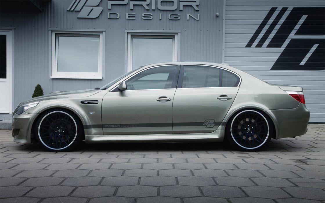 2012 Prior-Design Widebody Kit BMW 5-E60 tuning E60   q wallpaper