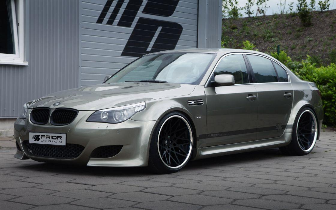 2012 Prior-Design Widebody Kit BMW 5-E60 tuning E60 wallpaper