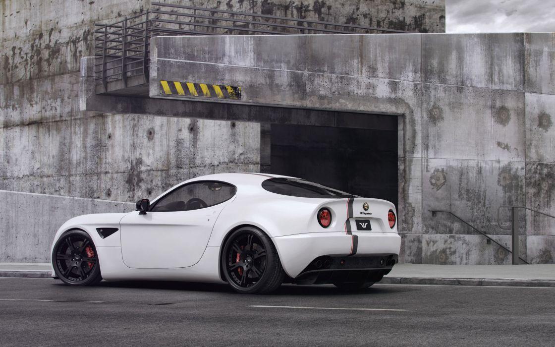 2012 Wheelsandmore Alfa Romeo 8-C Competizione tuning    a wallpaper