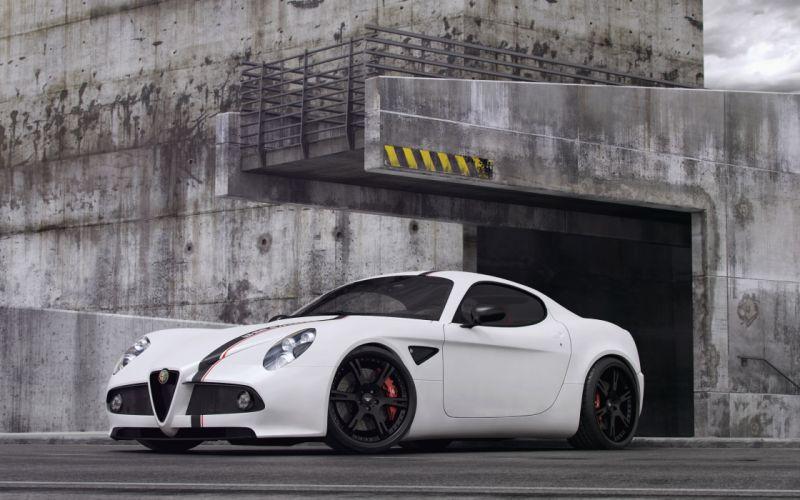 2012 Wheelsandmore Alfa Romeo 8-C Competizione tuning q wallpaper
