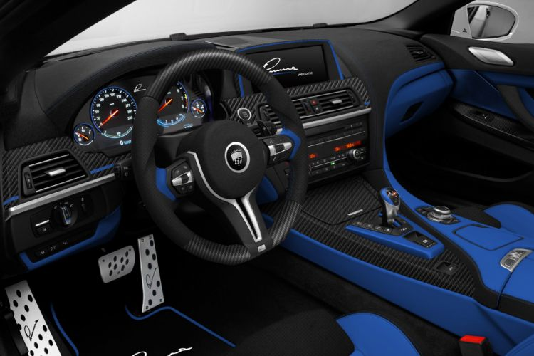2013 Lumma-Design BMW M-6 tuning interior wallpaper