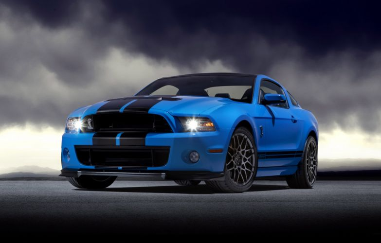 2013 Ford Shelby GT500 muscle wallpaper