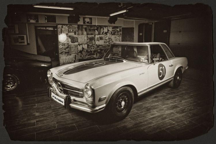 Vilner Mercedes-Benz W113 tuning classic wallpaper