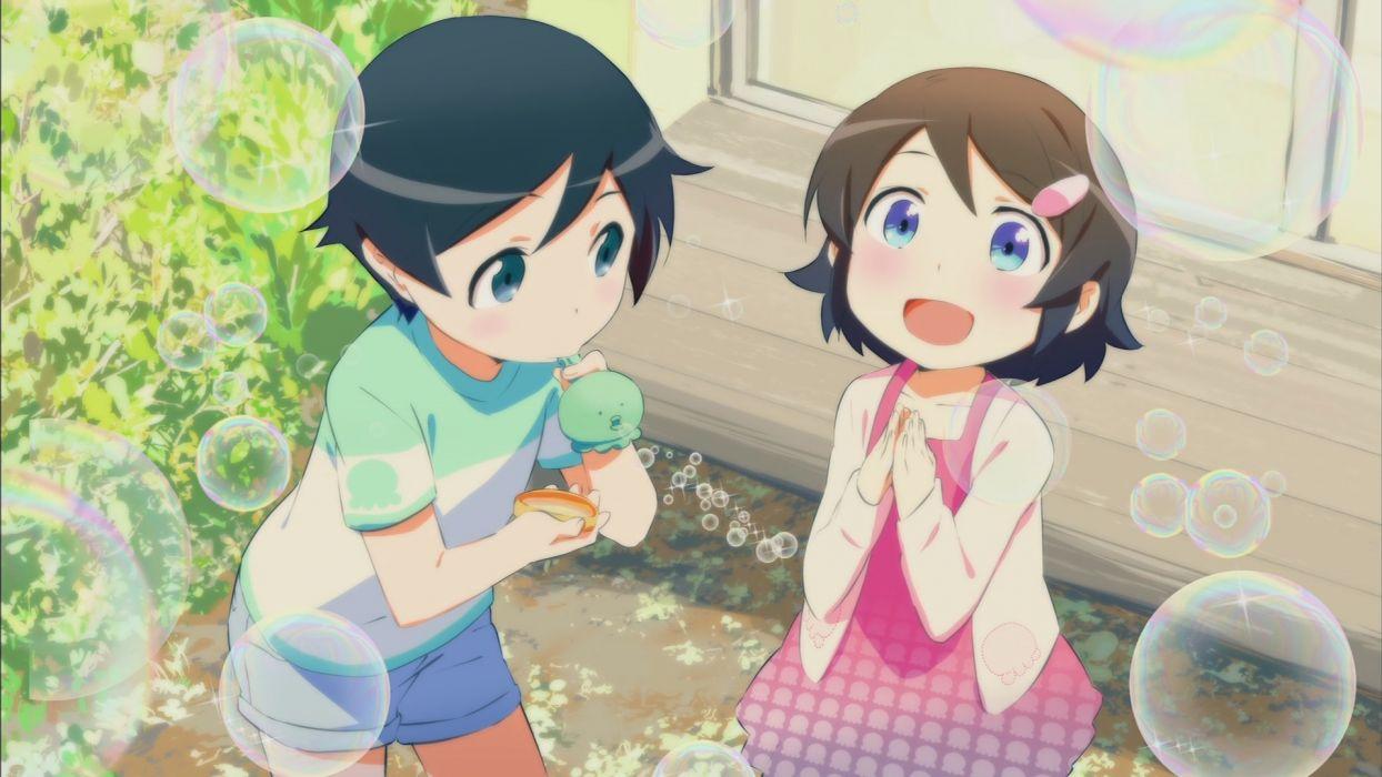bubbles ishida kana kousaka kirino kousaka kyousuke ore no imouto ga konna ni kawaii wake ga nai wallpaper