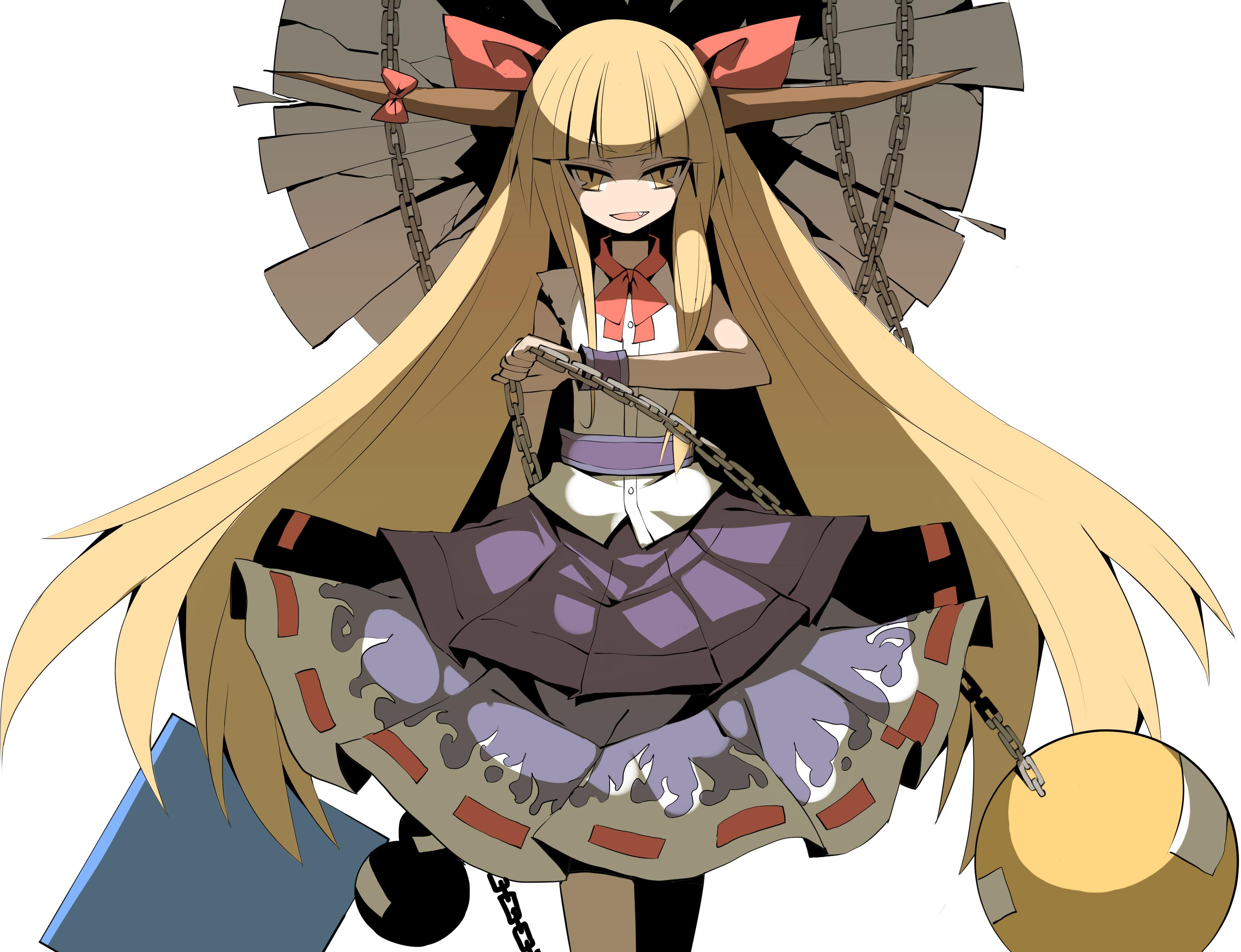 Touhou Ibuki Suika Wallpaper 3232x2480 83818 Wallpaperup