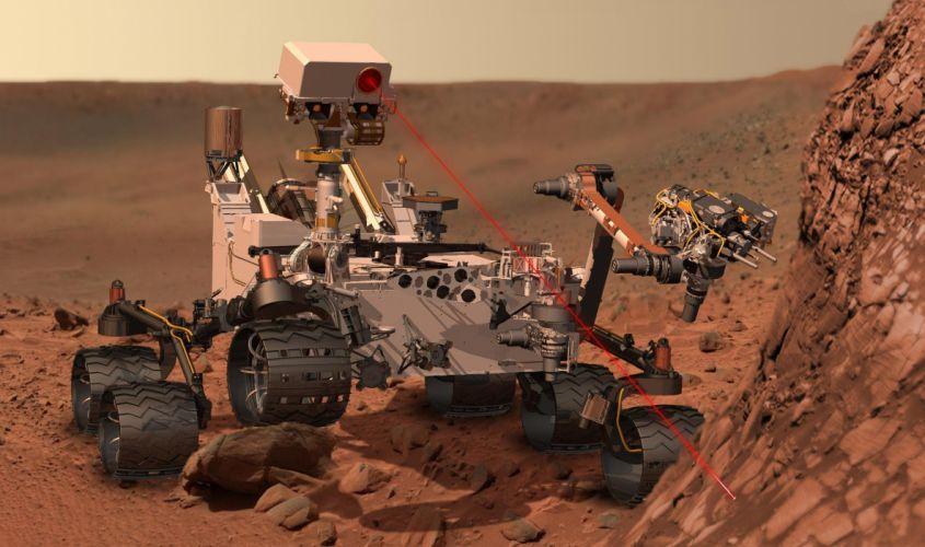 curiosity nasa space machine robot robots landscape landscapes planet planets tech a wallpaper