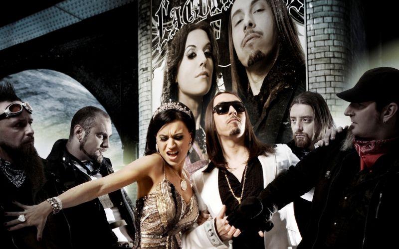 LACUNA COIL Cristina Scabbia hard rock v wallpaper