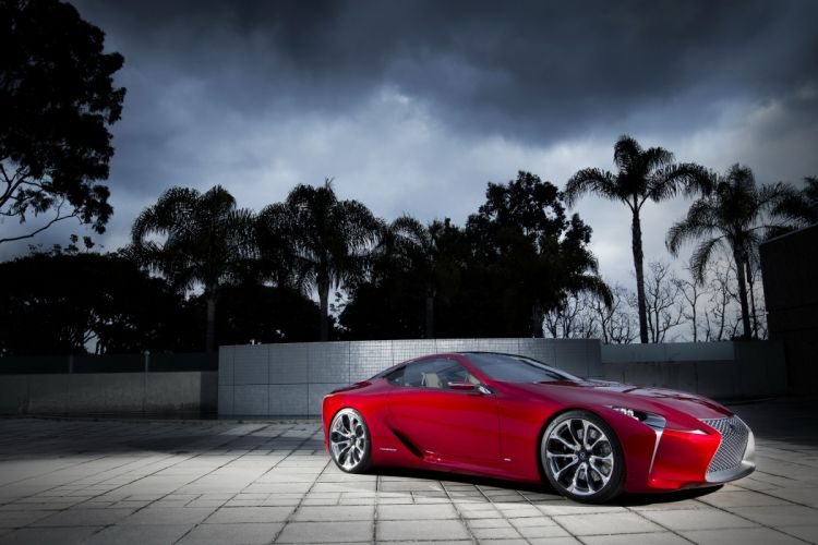 Lexus 2012 LF-LC tuning wallpaper
