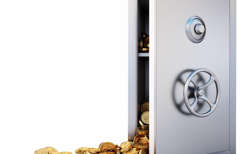 money coin coins gold safe wallpaper