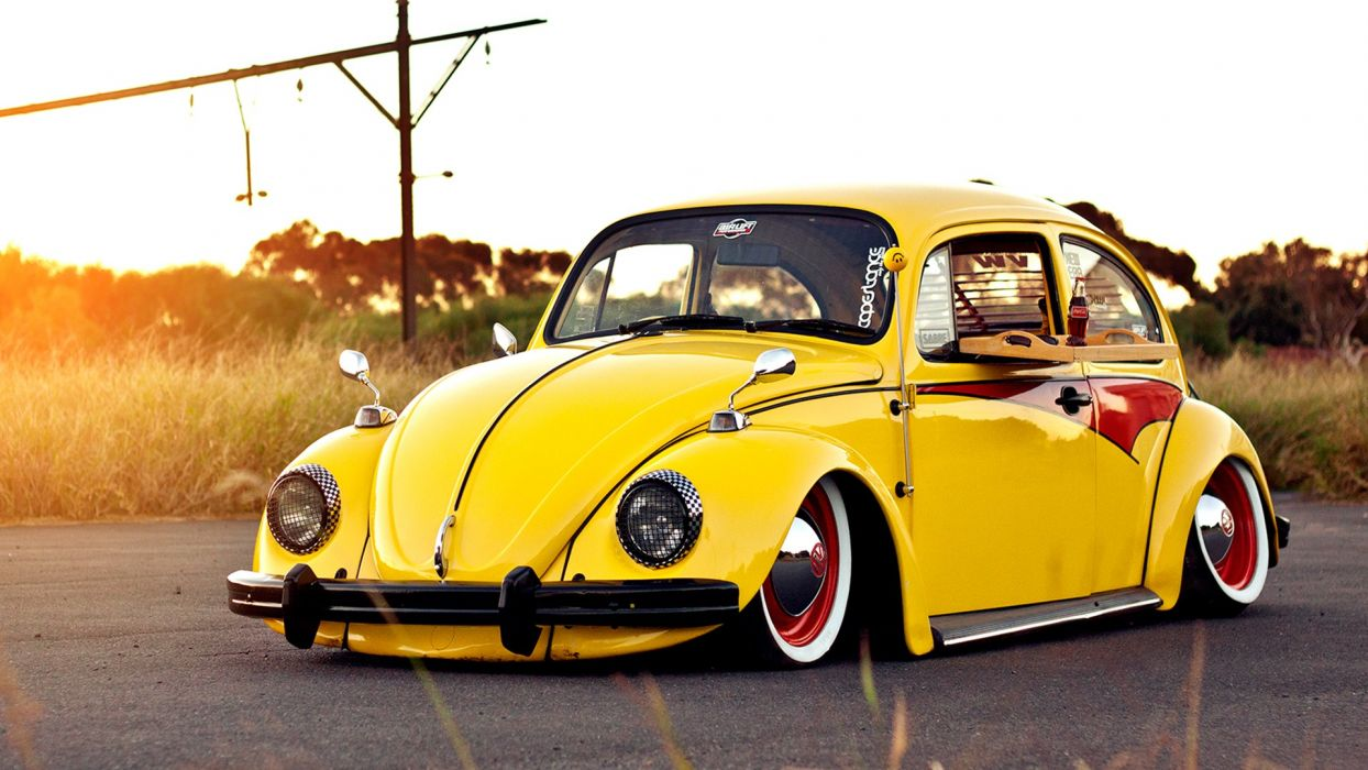 Volkswagen Bug Classic lowrider lowriders tuning     r wallpaper
