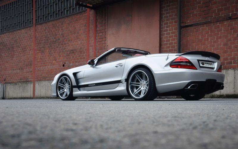 2012 Prior-Design Widebody Mercedes Benz S-L tuning b wallpaper