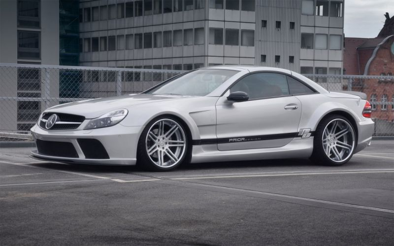 2012 Prior-Design Widebody Mercedes Benz S-L tuning d wallpaper