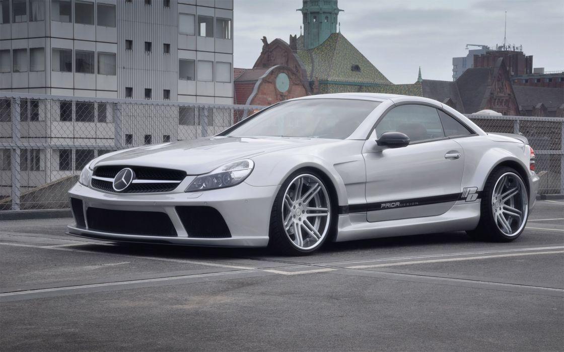 2012 Prior-Design Widebody Mercedes Benz S-L tuning s wallpaper