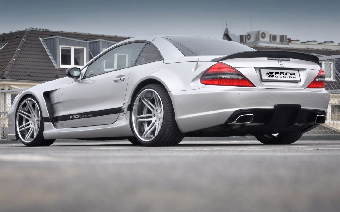 2012 Prior-Design Widebody Mercedes Benz S-L tuning v wallpaper