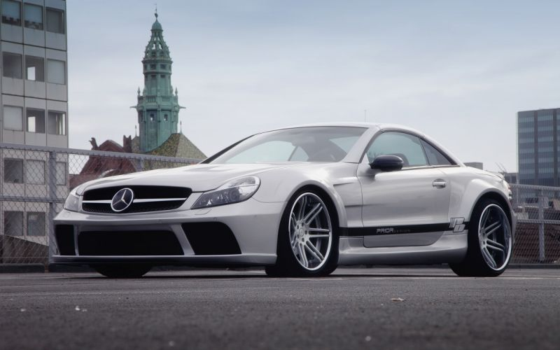 2012 Prior-Design Widebody Mercedes Benz S-L tuning wallpaper
