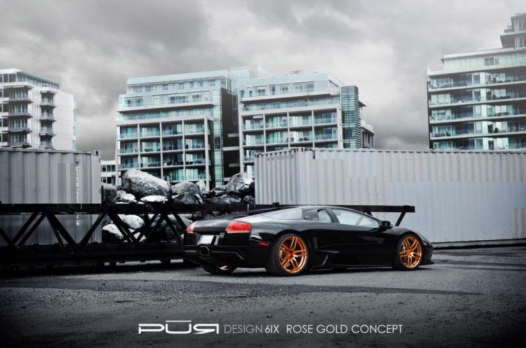 2012 Pur-Wheels Lamborghini Murcielago LP-640 lp640 tuning supercar supercars e wallpaper