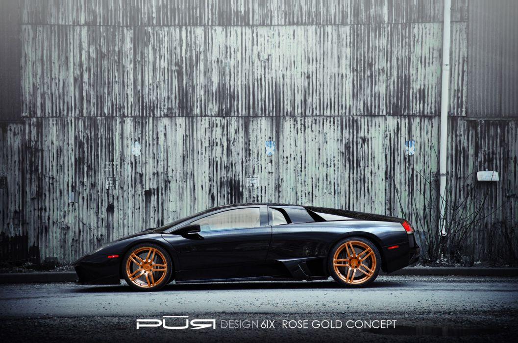 2012 Pur-Wheels Lamborghini Murcielago LP-640 lp640 tuning supercar supercars q wallpaper