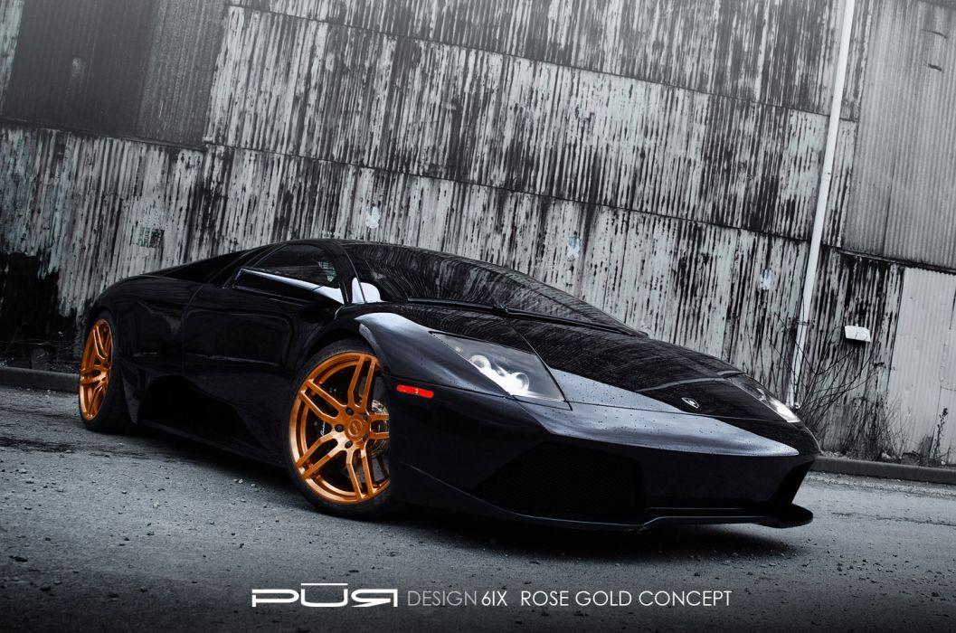 2012 Pur-Wheels Lamborghini Murcielago LP-640 lp640 tuning supercar supercars wallpaper