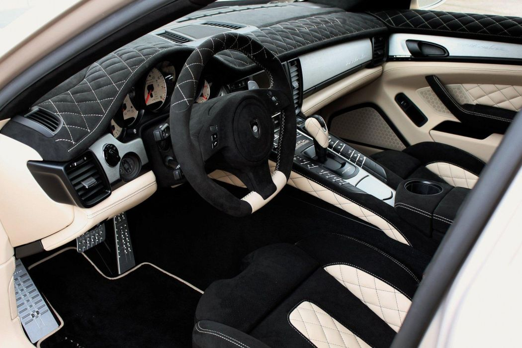2012 Gemballa Porsche Mistrale Panamera tuning interior wallpaper