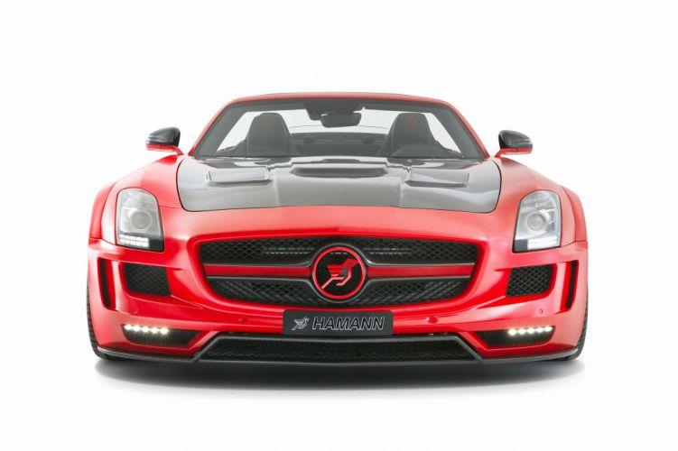 2012 Hamann Mercedes Benz AMG SLS Roadster tuning q wallpaper