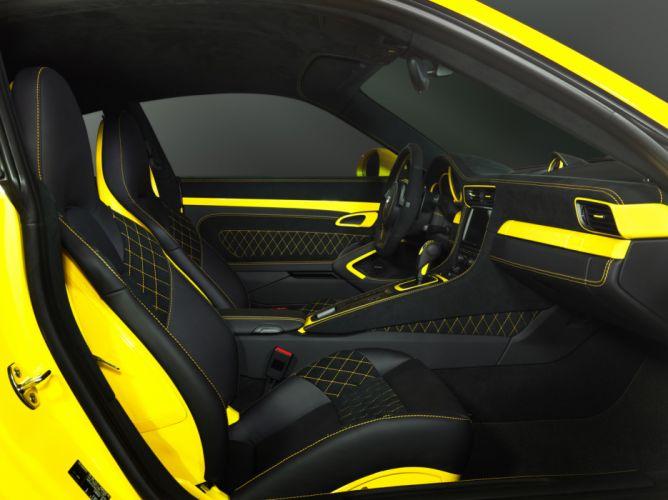 2012 TechArt Porsche 911 Carrera tuning interior wallpaper