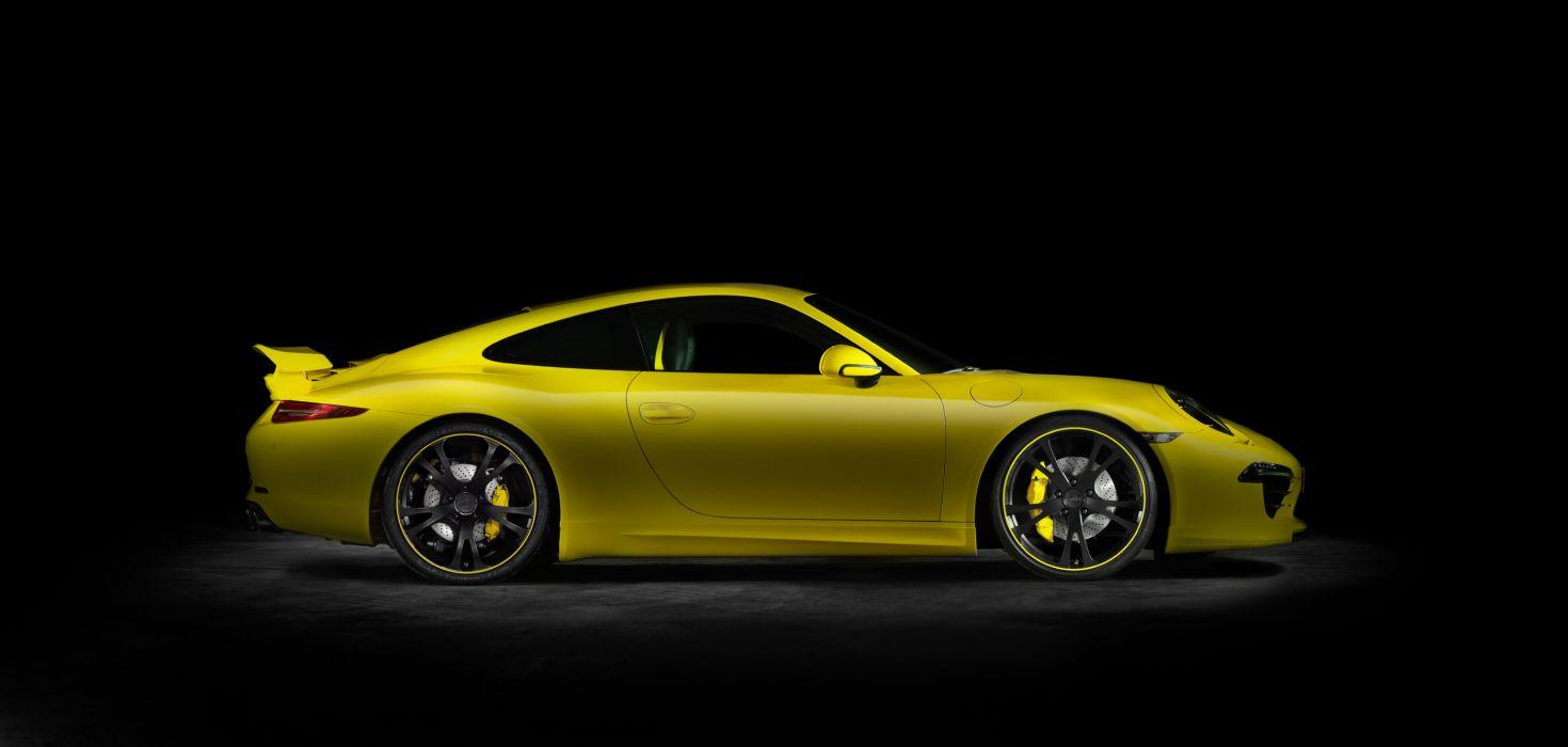 2012 TechArt Porsche 911 Carrera tuning wallpaper