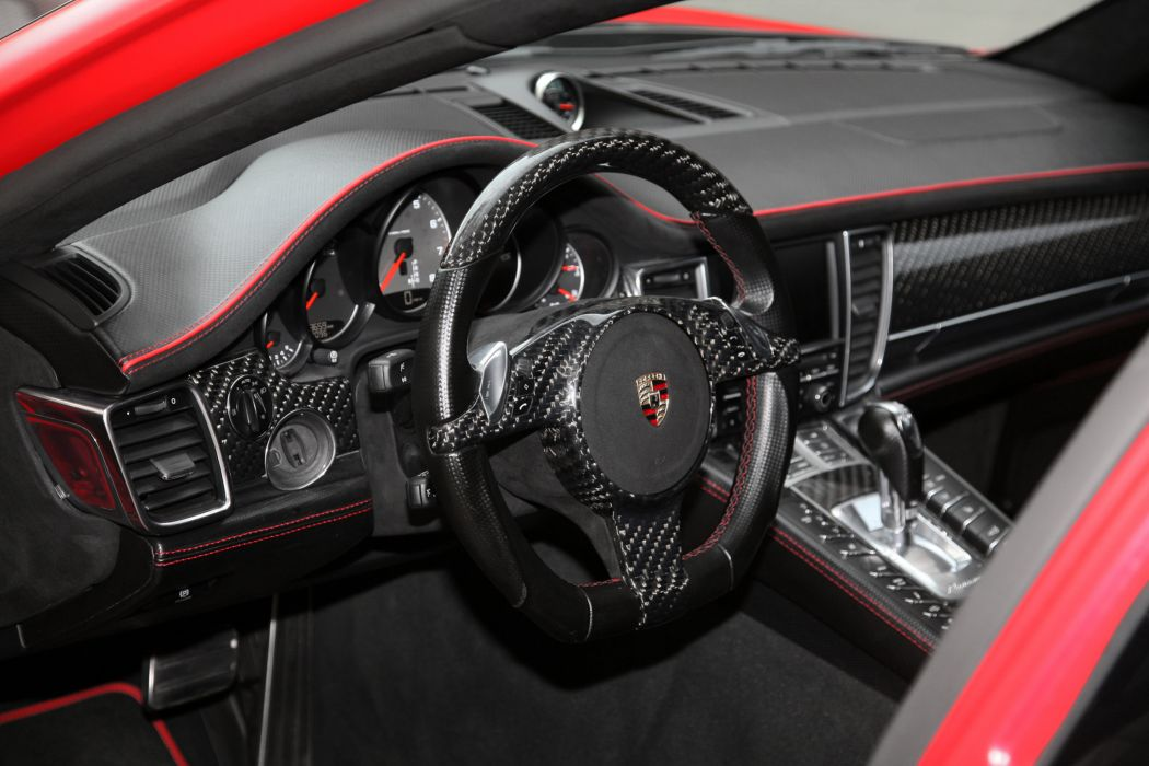 2011 Anderson-Germany Porsche Panamera tuning interior wallpaper